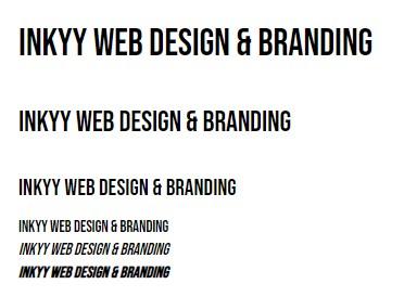 5 Fonts of the Week by Inkyy Web Design & Branding Team - Bebas Neue